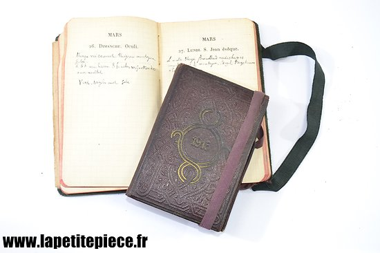 Ensemble de carnets de notes 1915 et 1916