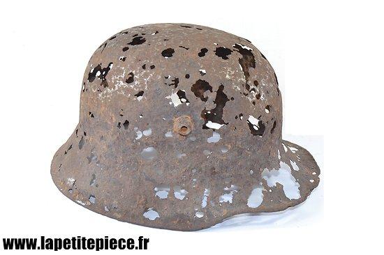 Casque Allemand modèle 1916 - épave