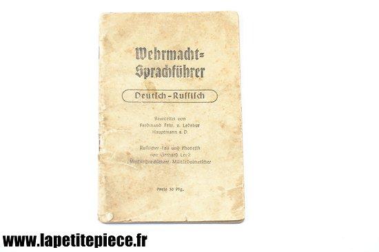 Livret traduction Allemand-Russe Wehrmacht Sprachführer Deutsch-Russisch