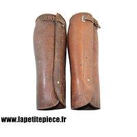 Guêtres / jambières Françaises modèle 1920 pour officier