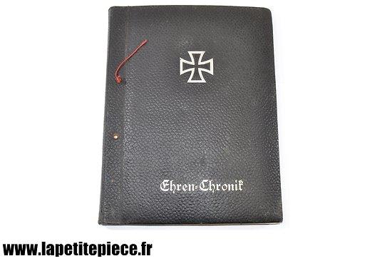 Livre personnel Allemand - Ehren Chronik 1939 Flak Schw Ers Abt 24 463
