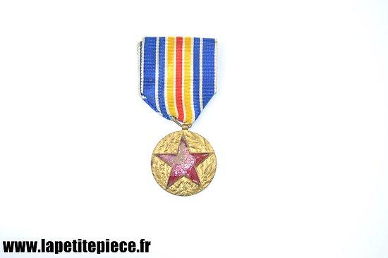 Médaille des blessés, émail abîmé