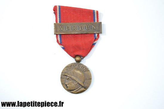 """Médaille commémorative de VERDUN """"on ne passe pas"""""""