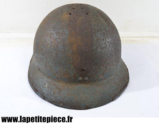 Coque de casque Adrian 1926, pièce de terrain WW2