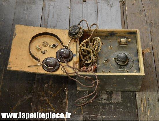 Appareil d'écoute / communication Résistance Française WW2 - FFI