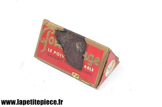 Boite de poivre Français époque WW2