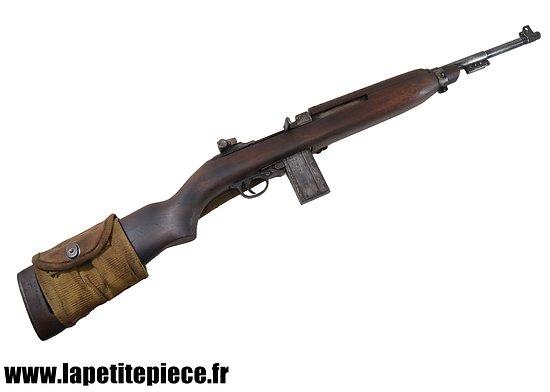 Repro carabine US M1 Denix, patinée.