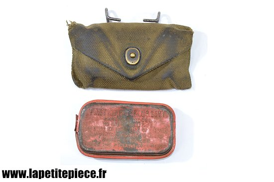Pouch first aid dressing M-1924