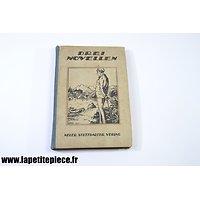 Livre Allemand début 20e siècle - Recueil de nouvelles