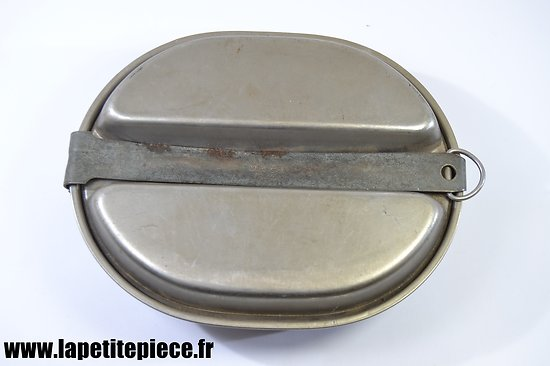 Gamelle américaine M-1942, CAN MEAT STAINLESS STEEL
