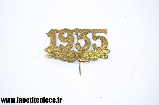 Broche de la classe 1935 - Armée Française