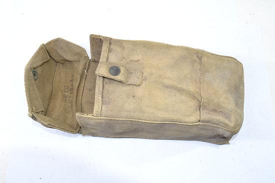 Etui / pouch STEN MKIII Anglais 1943 Blanchi/blancoté