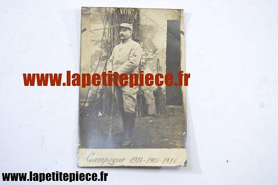 Photo Mitrailleur du 28 Régiment d'Infanterie avant la Bataille de Verdun avril 1914