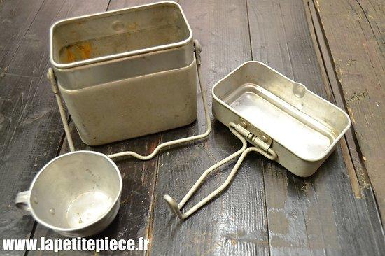 Gamelle modèle 1935 / marmite individuelle. France WW2  Tournus 1939