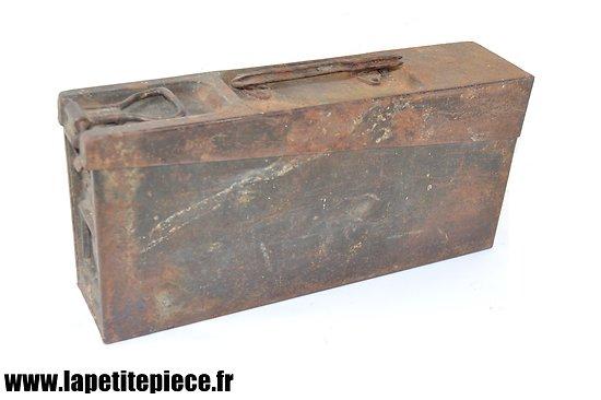 Caisse à munitions Allemande - Patronenkasten 15 - MG 08-15