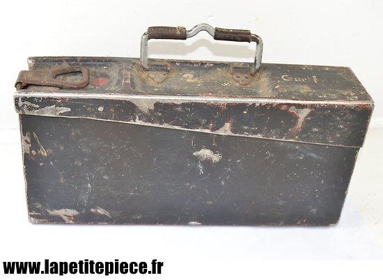 Caisse Allemande pour MG34 Gurtfuller 34 - Patronenkasten 15/34 aluminium