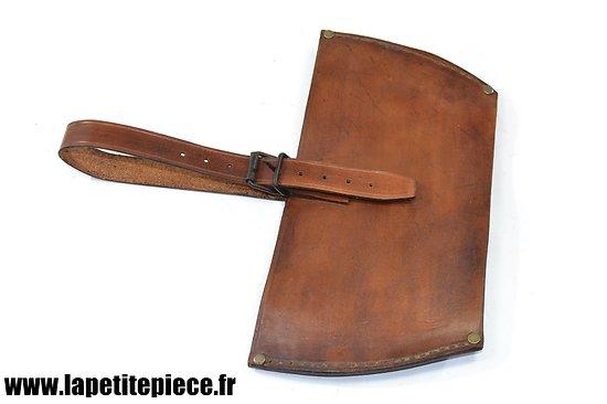Repro porte outil modèle 1935 pour pelle ronde portative modèle 1916 Armée Française WW2