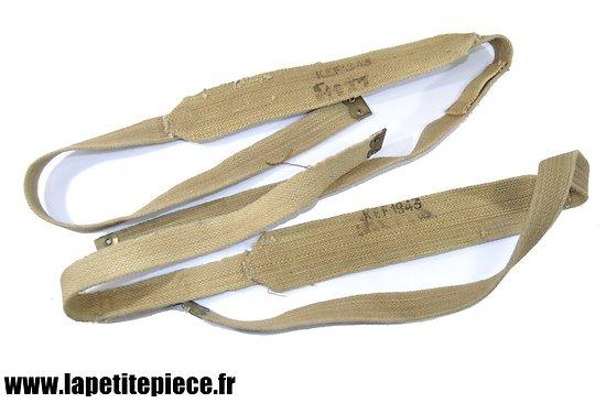 Bretelles de suspension anglaises WW2 - KEF 1943 - Brelage