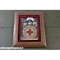 Repro cadre souvenir American Red Cross Military Welfare Service