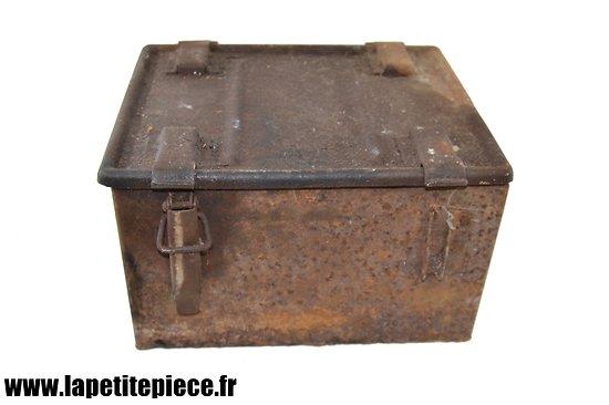 Caisse à munitions Belge modèle 1924 pour 930 cartouches de 7,65mm