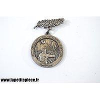 Médaille 40e Anniversaire de la libération des camps de prisonniers de Guerre, département des Ardennes