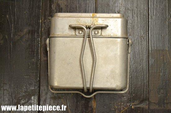 Gamelle modèle 1935 / marmite individuelle. France WW2  Tournus MMT 1939