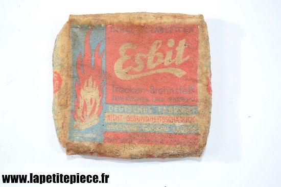 Boite combustible Esbit WW2