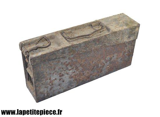Caisse à munitions Allemande MG 08-15 WW1