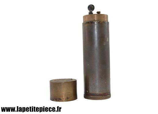 Briquet de table français, début XXème siècle, style artisanat de tranché