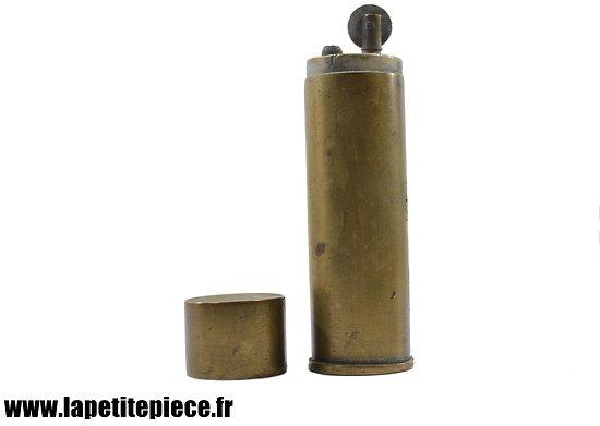 Briquet de table Français, début du XXème siècle. Artisanat WW1