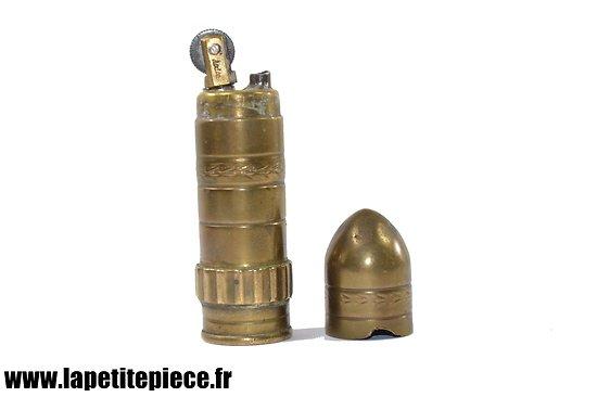 Briquet de soldat en forme d'obus, ARDENS MADE IN FRANCE, début 20e Siècle