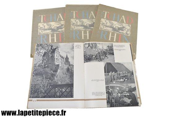 Livres Du Tchad au Rhin, tomes 1, 2 et 3. Du Rhin au Danude