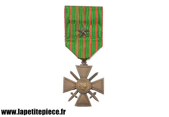 Croix de Guerre 1914-1918 avec citation
