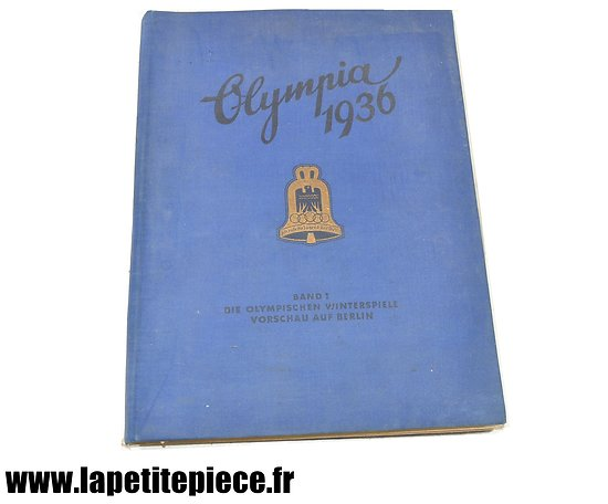 Livre patriotique Allemand - Olympia 1936 Band 1 (Jeux Olympiques)