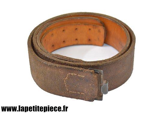 Repro ceinturon Allemand Lutwaffe WW2, JKH 42, régimenté I/J.R.42(L)