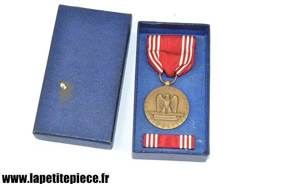 Médaille US bonne conduite - FOR GOOD CONDUCT avec boite et rappel