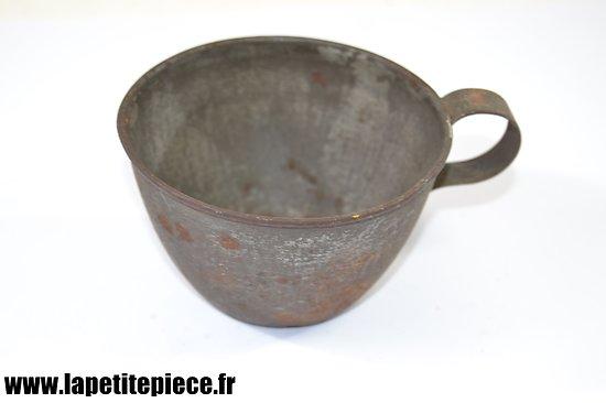 Quart Français modèle 1865. France Première Guerre Mondiale