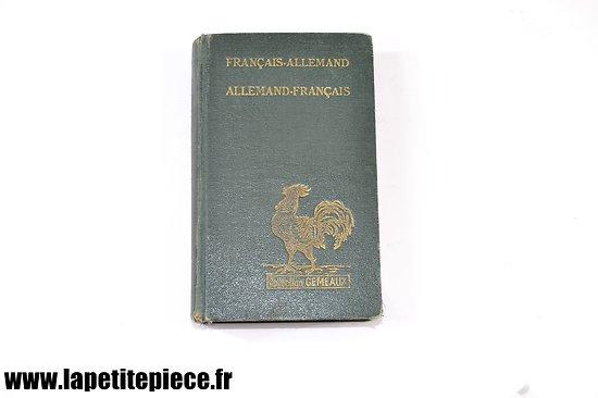 Dictionnaire de poche Français - Allemand 1938