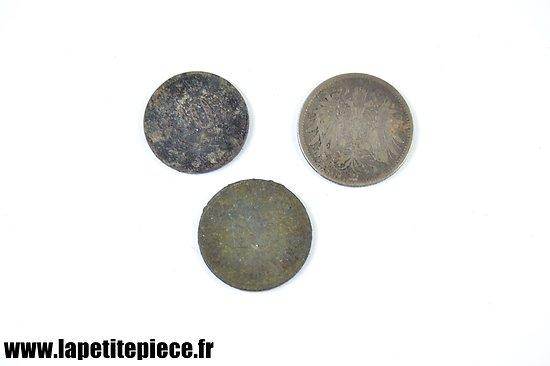 Monnaies allemandes Première Guerre Mondiale
