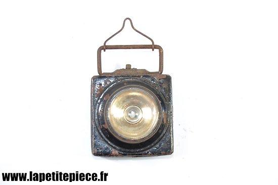 Lampe de poche électrique époque Première Guerre Mondiale