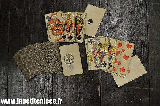 Jeu de cartes Français époque Première Guerre Mondiale