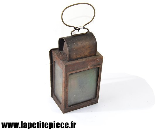 Lanterne à bougie, époque Première Guerre Mondiale