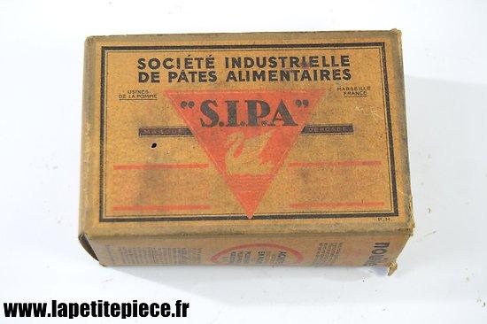 Boite de pâtes alimentaires Françaises, années 1930 - 1950.