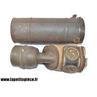 Masque à gaz Défense Passive Française WW2