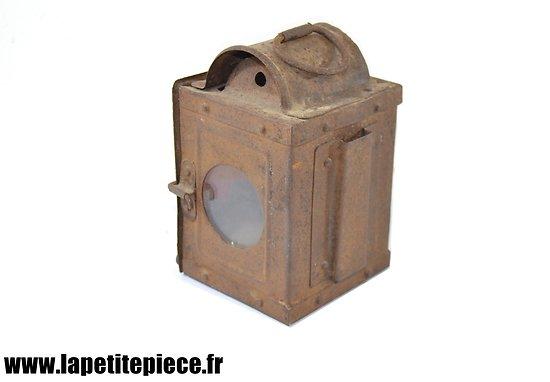 Lanterne de véhicule hippomobile / remorque ou chariot. Début 20e Siècle