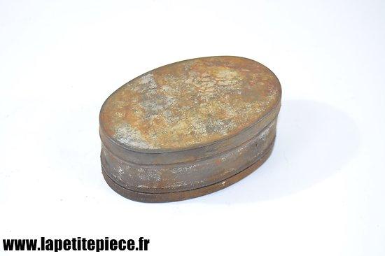Boite à graisse Française Première Guerre Mondiale