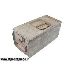 Caisse MG 08-15 double compartiment métal
