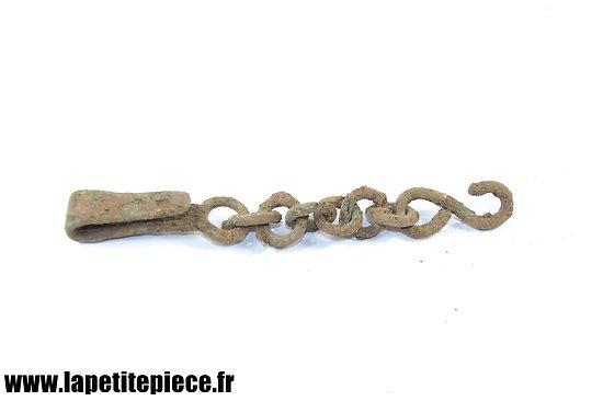 Bélière porte-épée à chainette - Allemand Première Guerre Mondiale