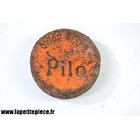 Boite de graisse PILO Allemande Première Guerre Mondiale