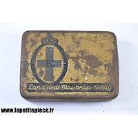Boite de tabac Allemand WW1 - Landfrieds Blaukreuz-schag